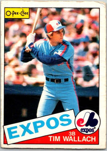1985 O-Pee-Chee #3 Tim Wallach  Montreal Expos  V35985