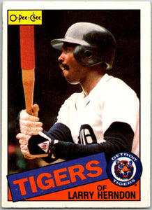 1985 O-Pee-Chee #9 Larry Herndon  Detroit Tigers  V35987