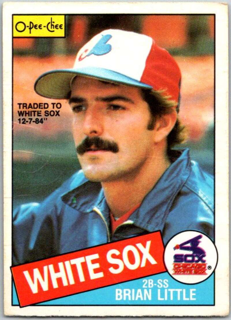 1985 O-Pee-Chee #257 Bryan Little  Chicago White Sox  V36079