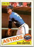 1985 O-Pee-Chee #289 Bob Knepper  Houston Astros  V36099
