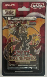 Yu-Gi-Oh! Blazing Vortex Booster Sealed Card Game Pack - English Edition