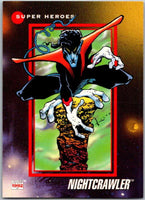 1992 Impel Marvel Universe #22 Nightcrawler   V36778