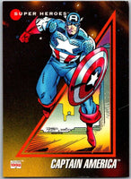 1992 Impel Marvel Universe #37 Captain America   V36783