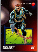1992 Impel Marvel Universe #40 Nick Fury   V36785