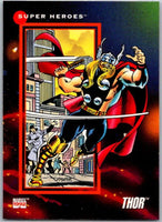 1992 Impel Marvel Universe #48 Thor   V36787