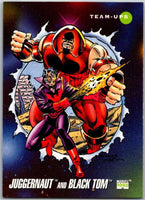 1992 Impel Marvel Universe #100 Juggernaut and Black Tom   V36801