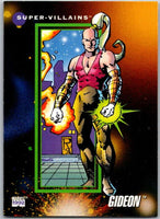 1992 Impel Marvel Universe #122 Gideon   V36808