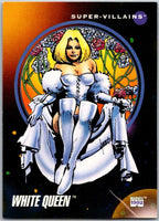 1992 Impel Marvel Universe #123 White Queen   V36809