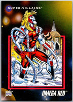 1992 Impel Marvel Universe #124 Omega Red   V36810
