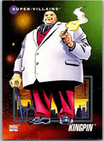 1992 Impel Marvel Universe #130 Kingpin   V36823