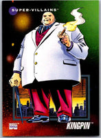 1992 Impel Marvel Universe #130 Kingpin   V36824