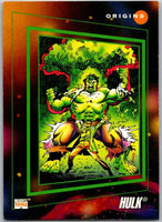 1992 Impel Marvel Universe #161 Hulk   V36826