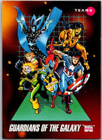 1992 Impel Marvel Universe #178 Guardians of the Galaxy   V36831