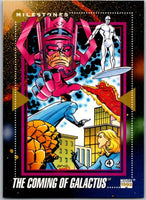 1992 Impel Marvel Universe #196 The Coming of Galactus   V36834