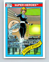 1990 Impel Marvel Universe #43 Invisible Woman   V36326
