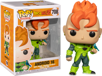 Funko Pop - 708 Anime Dragonball Z - Android 16 Vinyl Figure