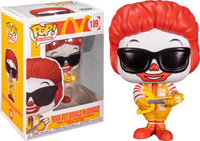 Funko Pop - 109 Ad Icons McDonalds - Rock Out Ronald McDonald Vinyl Figure