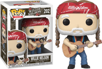 Funko Pop - 202 Rocks Willie Nelson - Willie Nelson Guitar Vinyl Figure