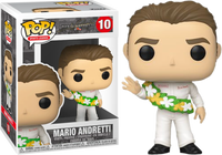 Funko Pop - 10 Nascar Sports Legends - Mario Andretti  Vinyl Figure