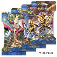 Pokemon XY - Breakpoint  Booster Sealed Card Game Pack