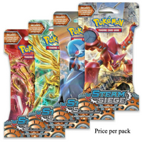 Pokemon XY - Steam Siege  Booster Sealed Card Game Pack