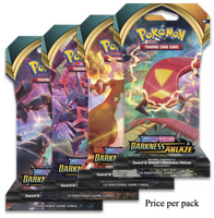 Pokemon Sword & Shield Darkness Ablaze Booster Sealed Card Game Pack