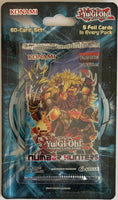 Yu-Gi-Oh! Number Hunters Booster Sealed Card Game Pack - English Edition