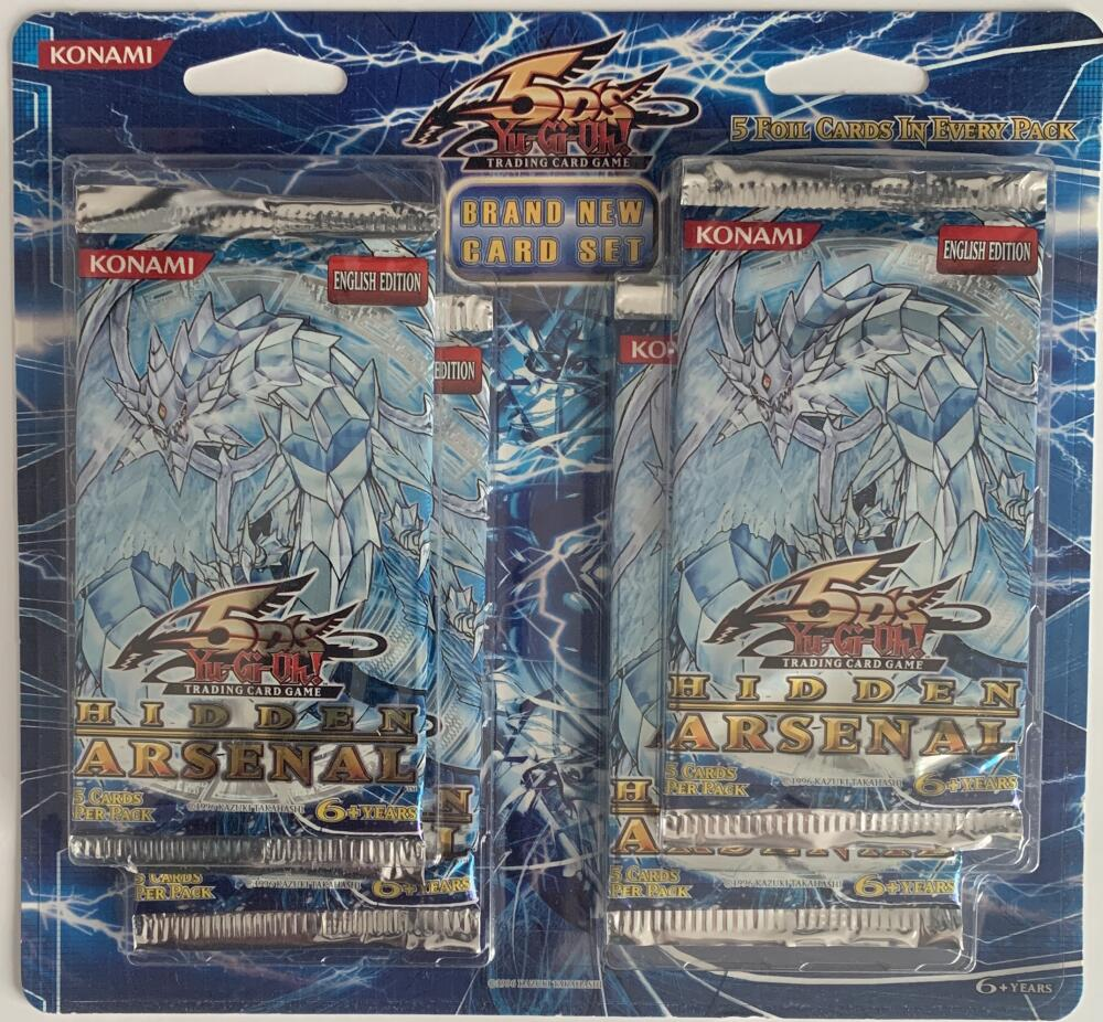 Yu-Gi-Oh! Hidden Arsenal (4) Booster Sealed Game Packs - English Edition