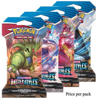 Pokemon Sword & Shield Battle Styles Booster Sealed Card Game Pack