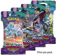 Pokemon Sun & Moon Guardians Rising Booster Sealed Card Game Pack