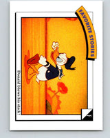 1991 Impel Walt Disney #42 F Donald blows his stack   V41688