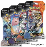 Pokemon Sun & Moon Cosmic Eclipse Booster Sealed Card Game Pack