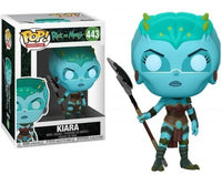 Funko Pop - 443 Animation Rick and Morty - Kiara Vinyl Figure