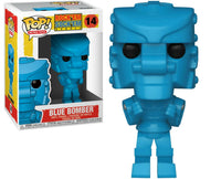 Funko Pop - 14 Retro Toys - Rock'em Sock'em - Blue Bomber Vinyl Figure
