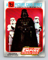 1980 Topps The Empire Strikes Back #1 Introduction   V43304