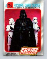 1980 Topps The Empire Strikes Back #1 Introduction   V43305