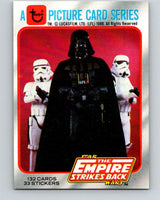 1980 Topps The Empire Strikes Back #1 Introduction   V43306