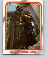 1980 Topps The Empire Strikes Back #34 Death of Admiral Ozzel   V43373