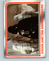 1980 Topps The Empire Strikes Back #50 Vader and the Snowtroopers   V43407