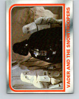 1980 Topps The Empire Strikes Back #50 Vader and the Snowtroopers   V43408