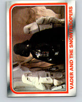 1980 Topps The Empire Strikes Back #50 Vader and the Snowtroopers   V43409