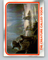 1980 Topps The Empire Strikes Back #58 The Creature Called Yoda   V43424