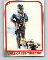 1980 Topps The Empire Strikes Back #84 A Pile of See-Threepio!   V43481