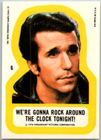 1976 Topps Happy Days Stickers #6 We're Gonna Rock Around the Clock  V44185
