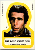 1976 Topps Happy Days Stickers #8 The Fonz Wants You   V44187
