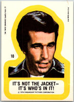1976 Topps Happy Days Stickers #10 Not The Jacket V44189