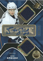 2007-08 SPX SAM GAGNER 336/999 Jersey Auto RC Edmonton Oilers RC UD
