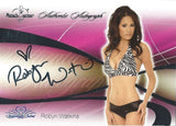 2008 Bench Warmer Signature Series ROBYN WATKINS Autograph Silver Foil