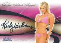 2008 Bench Warmer Signature Series KEELY WILLIAMS Autograph Silver Foil