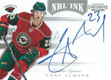 2011-12 Panini Contenders NHL Ink CODY ALMOND Auto Signatures 00213
